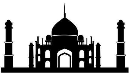Moschee Silhouette