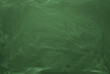 Blank green chalkboard with copy space