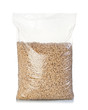 Pack of wood pellets