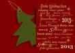 Weihnachten, Weihnachtskarte, Silvester