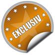 """Sticker """"Exclusiv"""""""