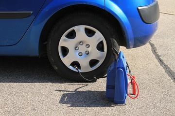 gonflage pneu