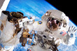 Spacewalking at the International Space Station