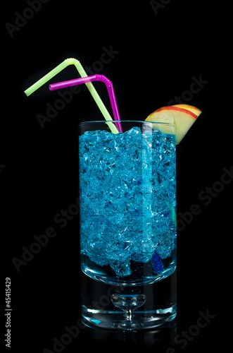 blue acochol  cocktail