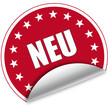 "Sticker ""Neu"""