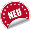 """Sticker """"Neu"""""""