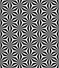 Op art pattern. Seamless geometric texture.