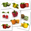 Cubic fruit collection