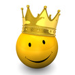 Smiley Golden Crown