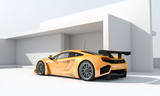Fototapete Racing car - Racing car - Auto