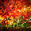 Abstract Triangle- Mosaic