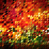 Fototapety Abstract Triangle- Mosaic