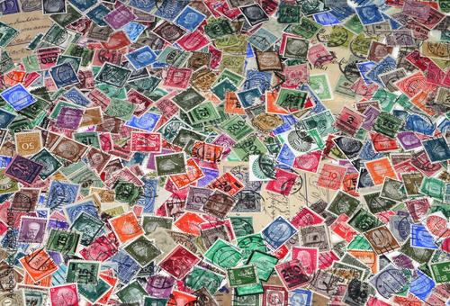 alte Briefmarken, Deutschland, Europa,