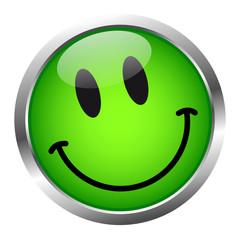 Vektor Smiley Grün