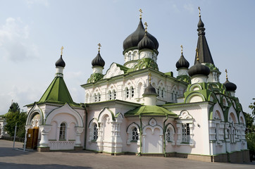 Church of the Intercession in Pokrovsky Monastery in Kiev