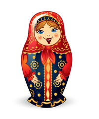 Russian Doll Matrioshka Russian nested doll, Russian Souvenir