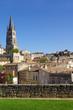 Le village de St Emilion en Gironde