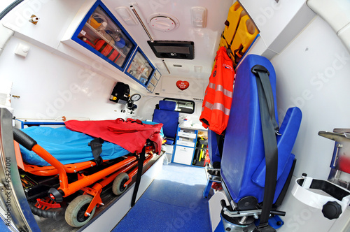 ambulance inside