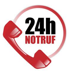 24 Stunden Hotline - 24h - Notruf