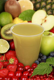 Saft aus grünen Früchten