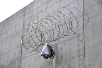 Security camera in a prison