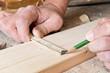 Anzeichnen auf Holz