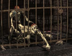 Gefangene Zombies