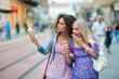 two woman friends