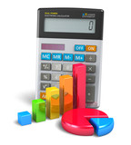 Fototapety Business finance, banking and accounting concept