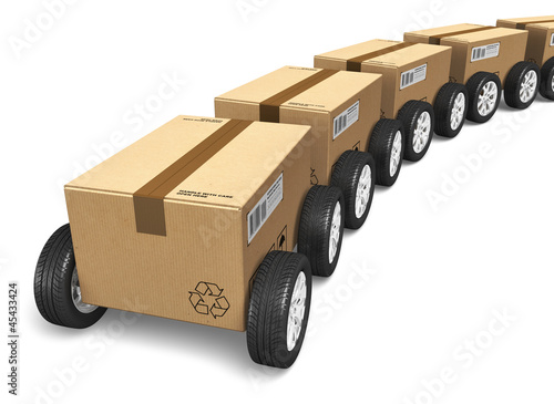 Shipping and delivery concept