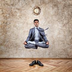 Time for yoga levitation
