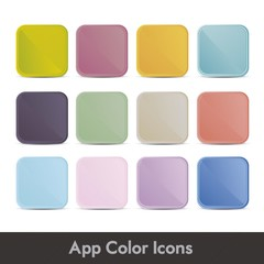 colorful icons for applications