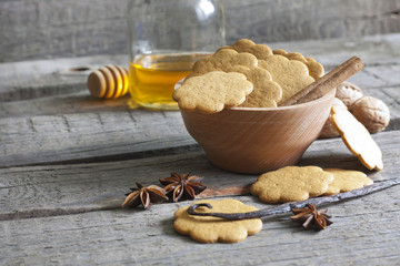 Gingerbread and spices
