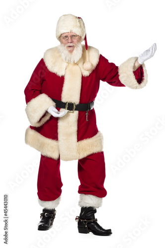 image of father santa dancing