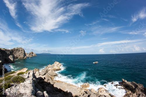 Guadeloupe Pointe des château