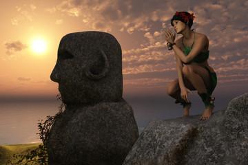 Fantasy island girl