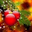 Weihnachten, Dekoration, Christbaumschmuck, Kugel, Stimmung, Rot