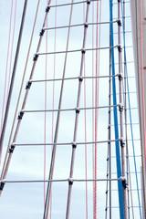 Marine rope ladder