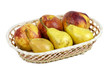 Apples, pears and grapes appetizing autumn fruit