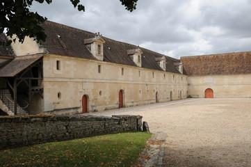 Val d Oise, renaissance stable of the castle of  villarceaux