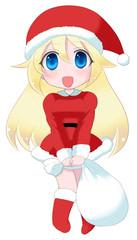 萌え系クリスマスの女の子