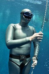 The pleasure of freediving