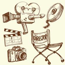 Cinéma et photographie ancienne série