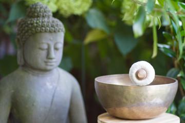 Klangschale Budda 1