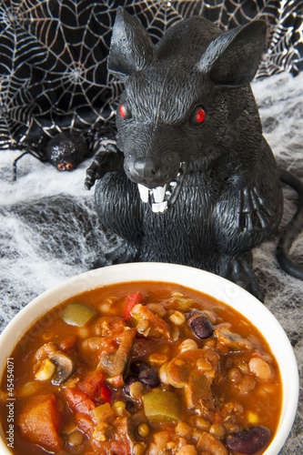 Hungy Halloween Rat