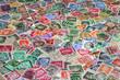 alte Briefmarken, Deutschland, Europa