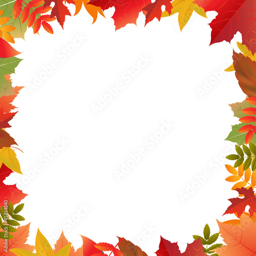 Color Autumn Frame