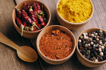 Four kinds of seasonings