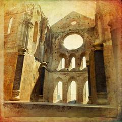 Abbazia di san Galgano, Siena, Toscana