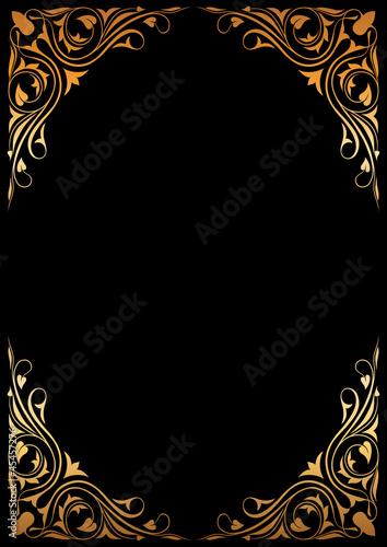Siyah çiçek desenli kitap kapağı